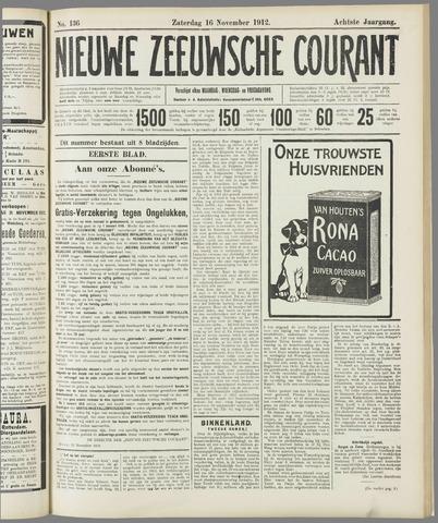 Nieuwe Zeeuwsche Courant 1912-11-16