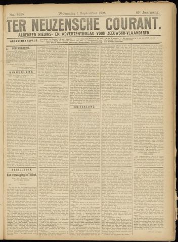 Ter Neuzensche Courant. Algemeen Nieuws- en Advertentieblad voor Zeeuwsch-Vlaanderen / Neuzensche Courant ... (idem) / (Algemeen) nieuws en advertentieblad voor Zeeuwsch-Vlaanderen 1926-09-01