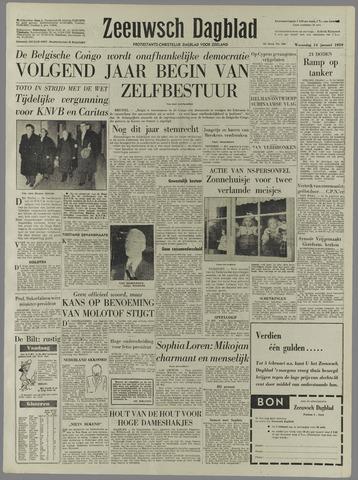Zeeuwsch Dagblad 1959-01-14