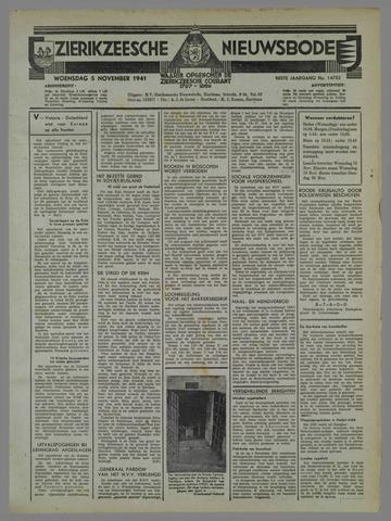 Zierikzeesche Nieuwsbode 1941-10-12