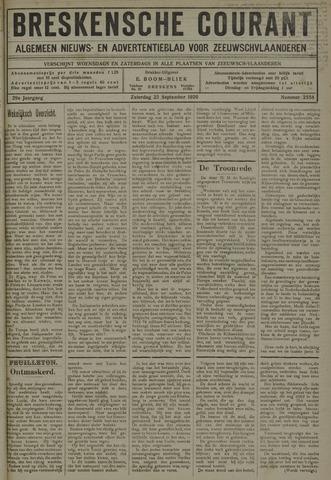 Breskensche Courant 1920-09-25