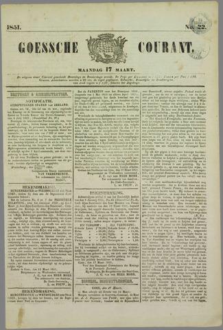 Goessche Courant 1851-03-17