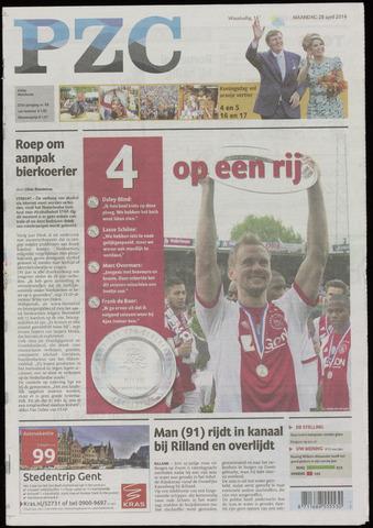 Provinciale Zeeuwse Courant 2014-04-28