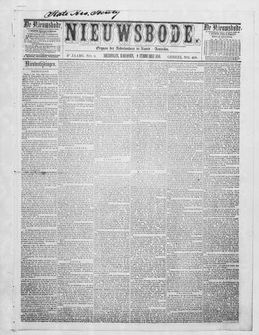 Sheboygan Nieuwsbode 1858-02-09