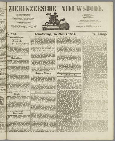 Zierikzeesche Nieuwsbode 1851-03-13