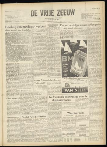 de Vrije Zeeuw 1956-11-21
