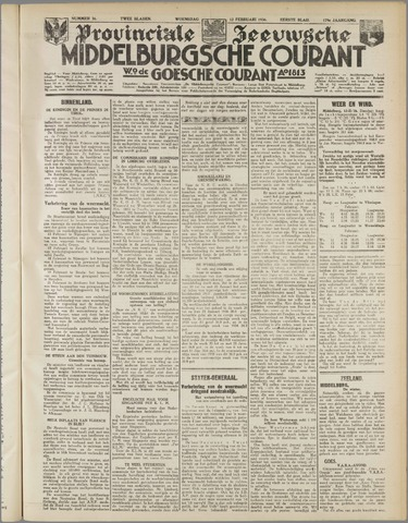 Middelburgsche Courant 1936-02-12