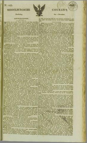 Middelburgsche Courant 1825-12-01