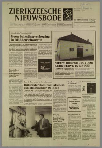 Zierikzeesche Nieuwsbode 1984-11-01