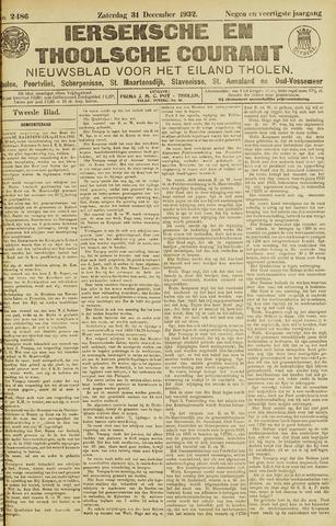 Ierseksche en Thoolsche Courant 1932-12-31
