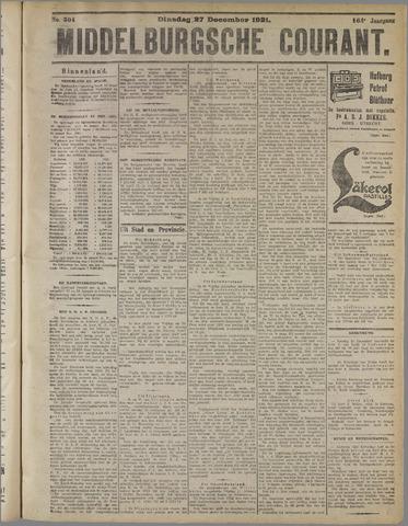 Middelburgsche Courant 1921-12-27