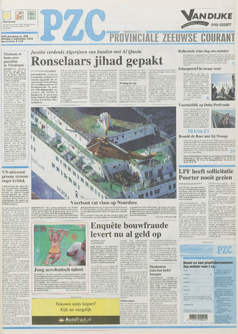 Provinciale Zeeuwse Courant 2002-09-03