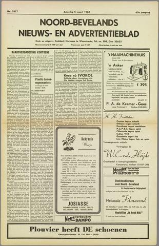 Noord-Bevelands Nieuws- en advertentieblad 1960-03-05