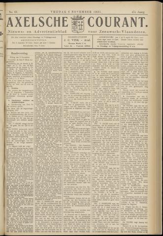 Axelsche Courant 1931-11-06