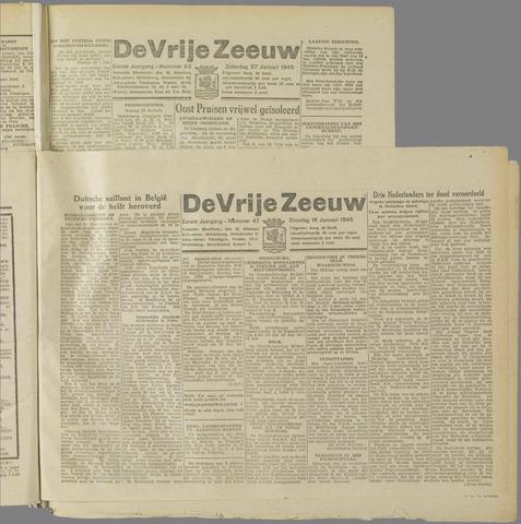 de Vrije Zeeuw 1945-01-16