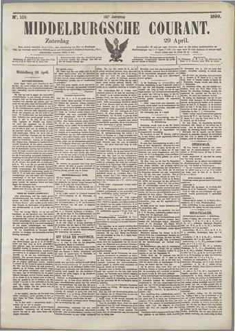 Middelburgsche Courant 1899-04-29