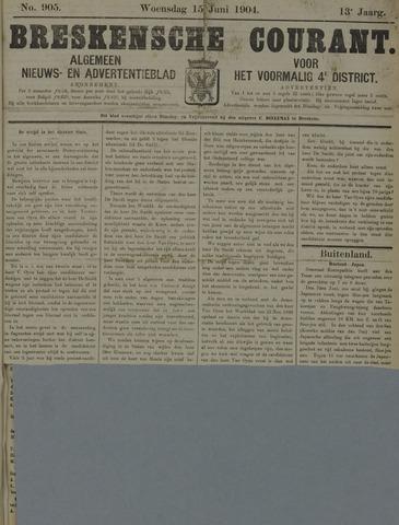 Breskensche Courant 1904-06-15