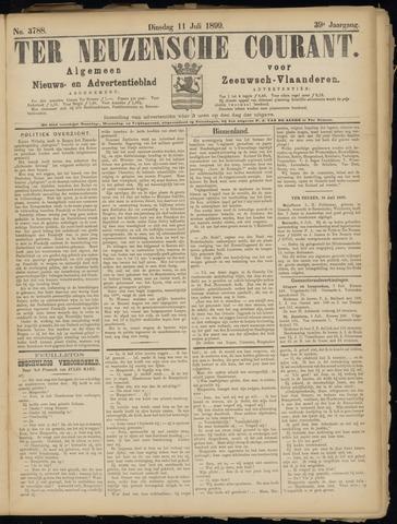 Ter Neuzensche Courant. Algemeen Nieuws- en Advertentieblad voor Zeeuwsch-Vlaanderen / Neuzensche Courant ... (idem) / (Algemeen) nieuws en advertentieblad voor Zeeuwsch-Vlaanderen 1899-07-11
