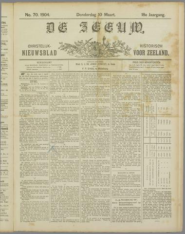 De Zeeuw. Christelijk-historisch nieuwsblad voor Zeeland 1904-03-10