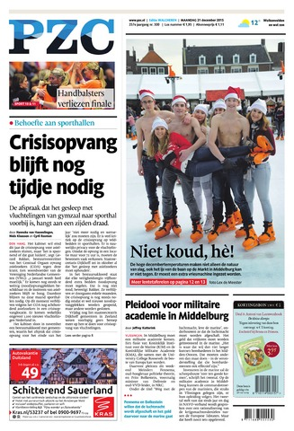 Provinciale Zeeuwse Courant 2015-12-21