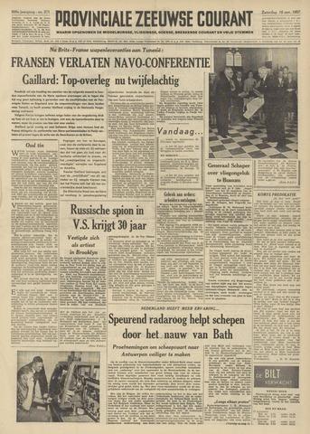 Provinciale Zeeuwse Courant 1957-11-16