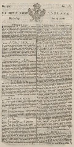 Middelburgsche Courant 1764-03-15