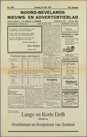 Noord-Bevelands Nieuws- en advertentieblad 1953-05-30