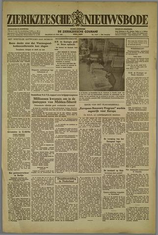 Zierikzeesche Nieuwsbode 1952-06-30