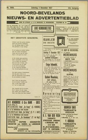 Noord-Bevelands Nieuws- en advertentieblad 1937-12-04
