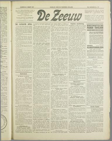 De Zeeuw. Christelijk-historisch nieuwsblad voor Zeeland 1937-03-03