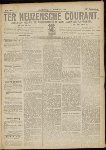 Ter Neuzensche Courant. Algemeen Nieuws- en Advertentieblad voor Zeeuwsch-Vlaanderen / Neuzensche Courant ... (idem) / (Algemeen) nieuws en advertentieblad voor Zeeuwsch-Vlaanderen 1918-12-05