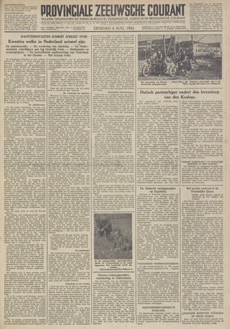 Provinciale Zeeuwse Courant 1942-08-04