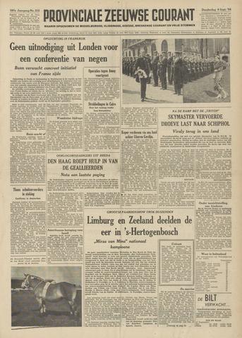 Provinciale Zeeuwse Courant 1954-09-09