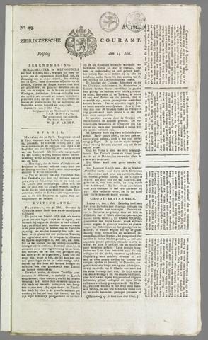 Zierikzeesche Courant 1824-05-14