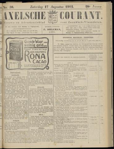 Axelsche Courant 1912-08-17