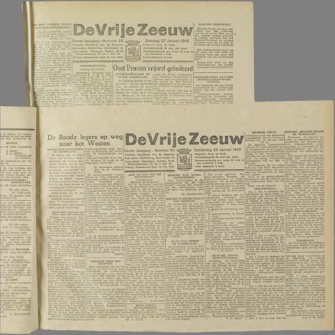 de Vrije Zeeuw 1945-01-25