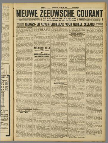Nieuwe Zeeuwsche Courant 1929-01-10