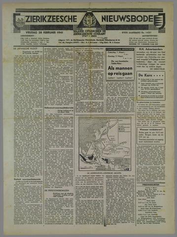 Zierikzeesche Nieuwsbode 1941-02-28