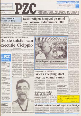 Provinciale Zeeuwse Courant 1989-08-04