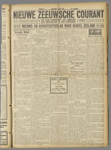Nieuwe Zeeuwsche Courant 1924-04-05