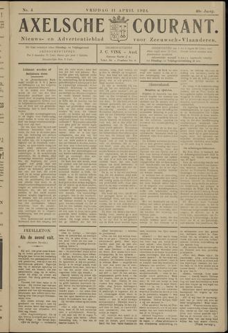 Axelsche Courant 1924-04-11