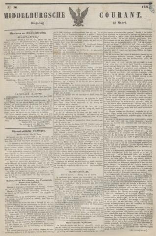 Middelburgsche Courant 1851-03-25