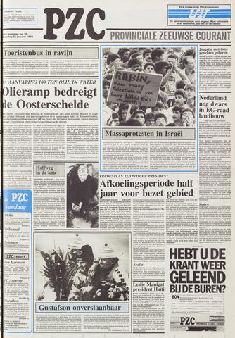 Provinciale Zeeuwse Courant 1988-01-25