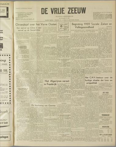 de Vrije Zeeuw 1958-09-22