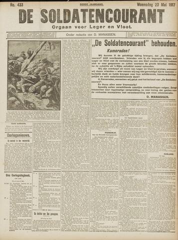 De Soldatencourant. Orgaan voor Leger en Vloot 1917-05-23