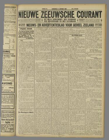 Nieuwe Zeeuwsche Courant 1926-10-21