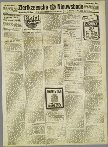 Zierikzeesche Nieuwsbode 1926-03-31