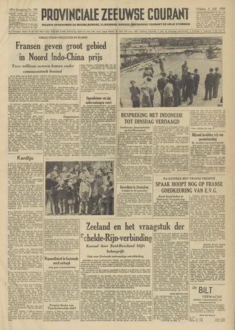 Provinciale Zeeuwse Courant 1954-07-02
