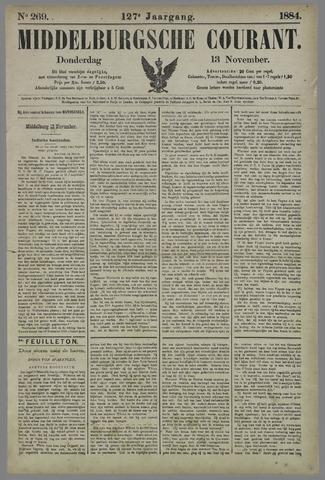 Middelburgsche Courant 1884-11-13