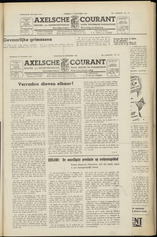 Axelsche Courant 1951-11-14
